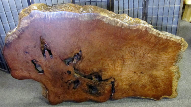 Redwood Birdseye Burl Table Top