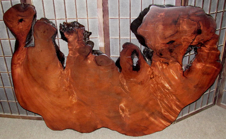 Redwood Burl Table Top