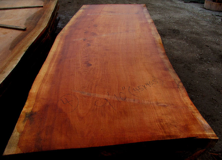 Redwood Log Slab