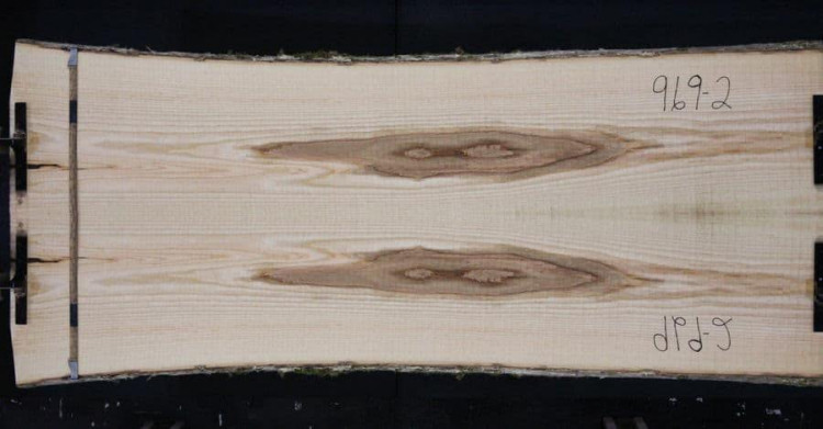 Book-Matched Ash Table Top