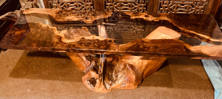Black Walnut River Table
